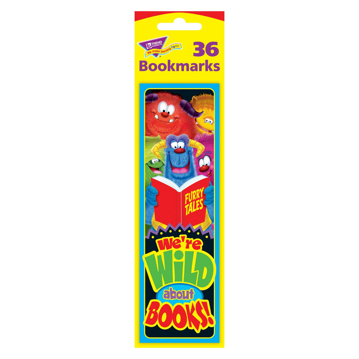 T12050 Bookmark Furry Monster Friends Books Package