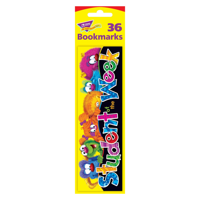 T12051 Bookmark Furry Monster Friends Student of Week Package