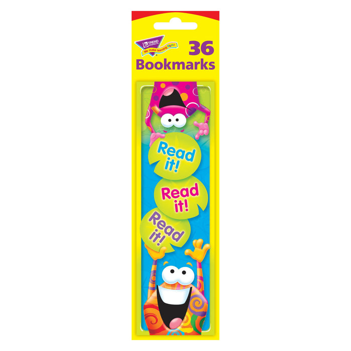 T12060 Bookmark Read It Frog Package