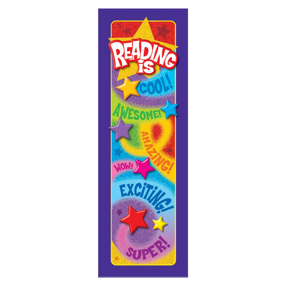 T12080 Bookmark Reading Praise Words Stars
