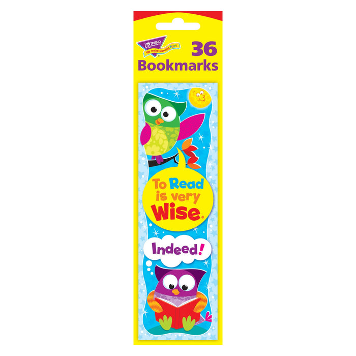 T12110 Bookmark Read Wise Owl Stars Package