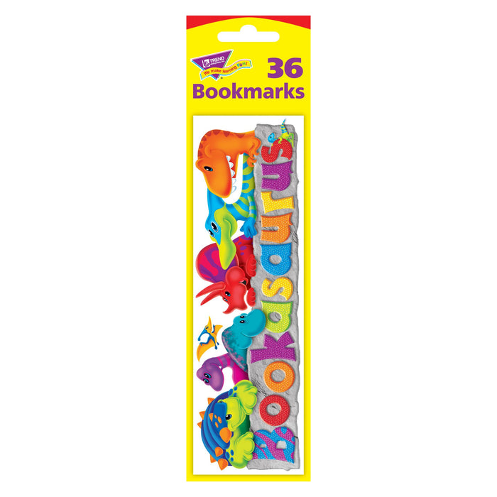 T12115 Bookmark Dinosaur Bookasaurus Package