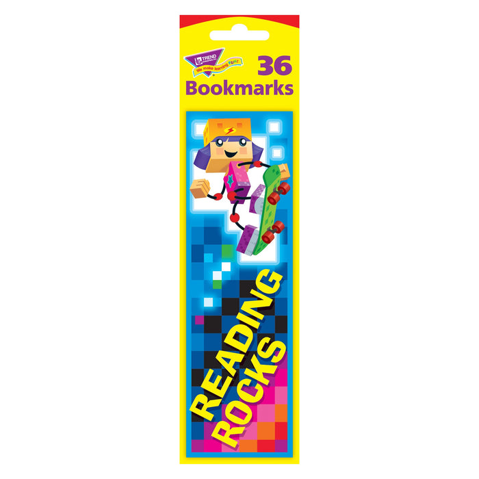 T12125 Bookmark Block Star Kids Reading Rocks Package