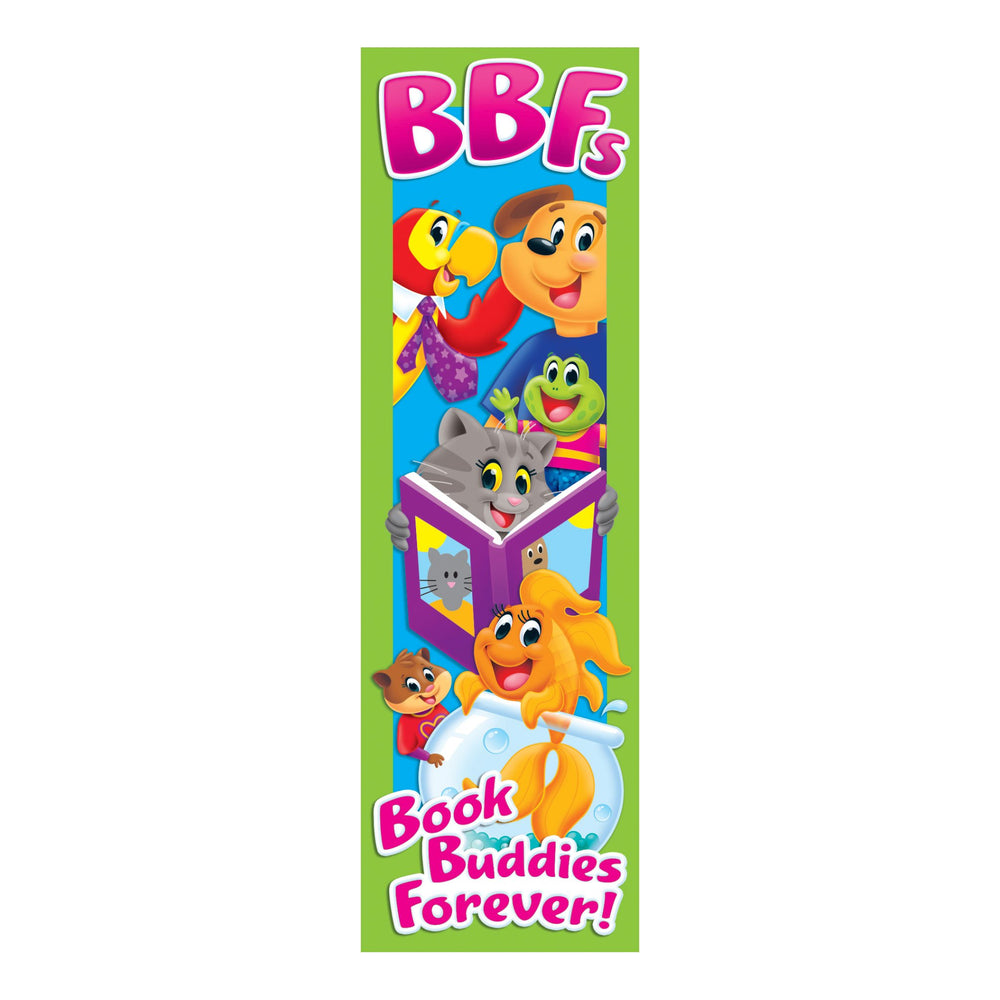 T12130 Bookmark Playtime Pets Book Buddies