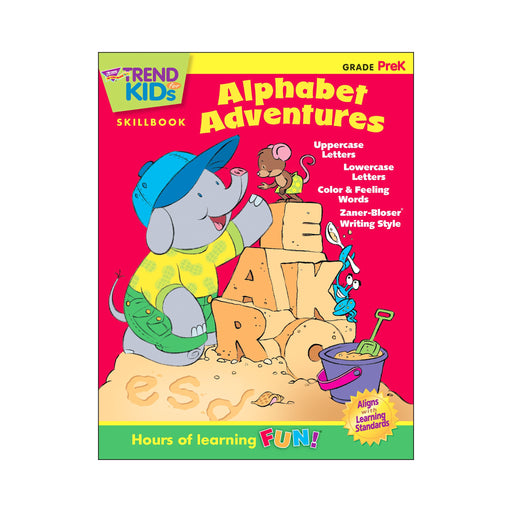 T16001 Skillbook PreK Alphabet Adventures