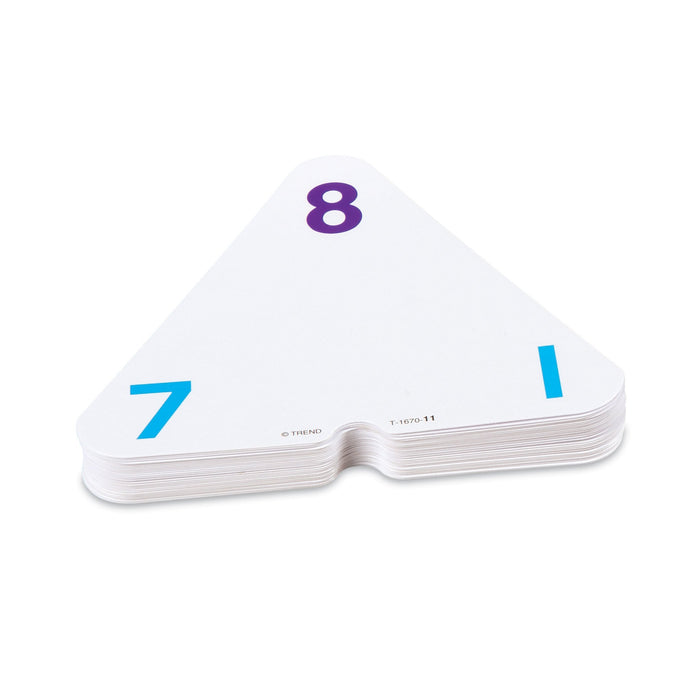 T1670 Flash Cards Three Corner Addition Subtraction