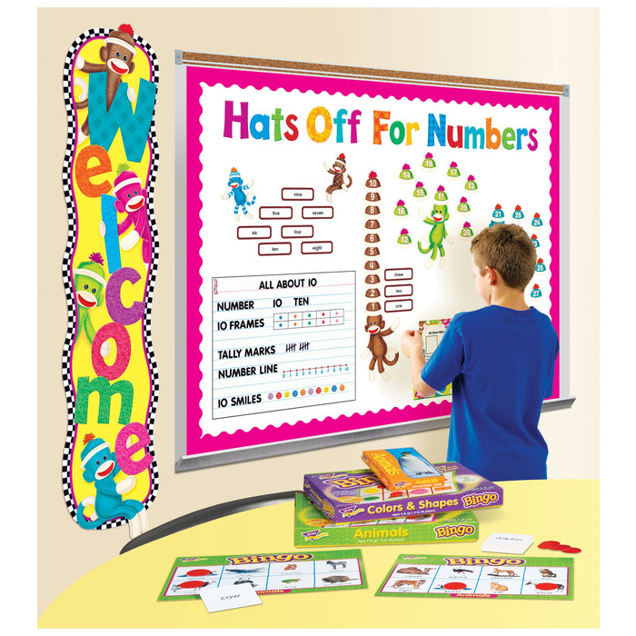 T1785 Letters inch Black Classroom