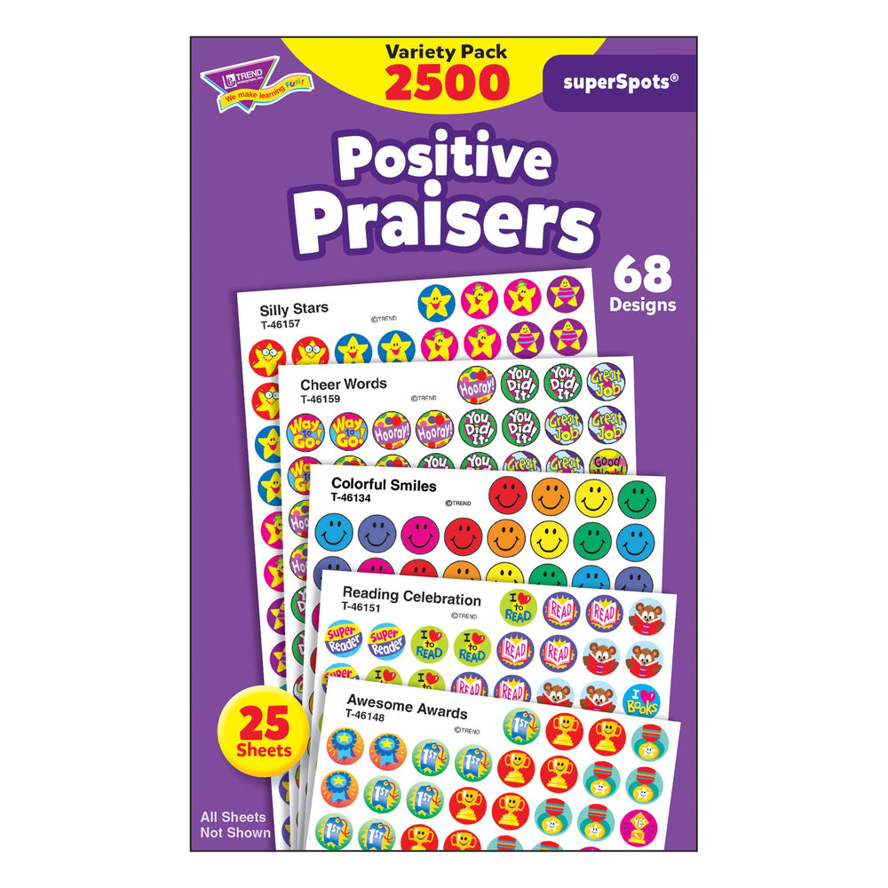 T1945 Sticker Chart Variety Pack Positive Praisers