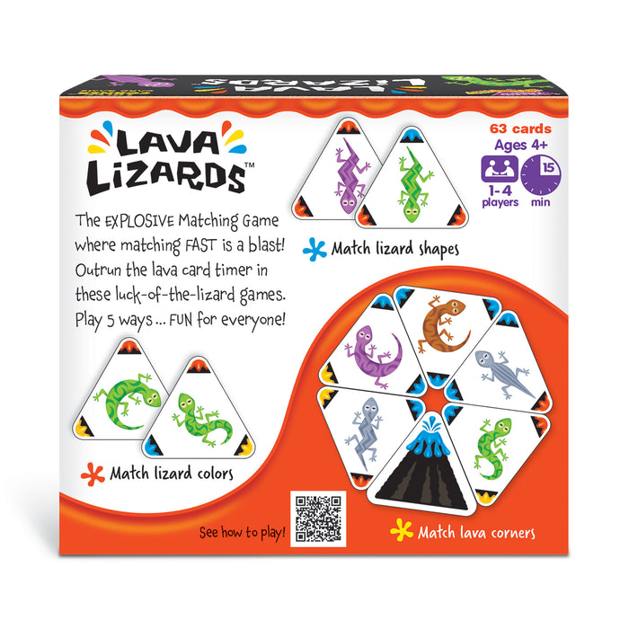 Lava Lizards Three CORNER™ Card Game