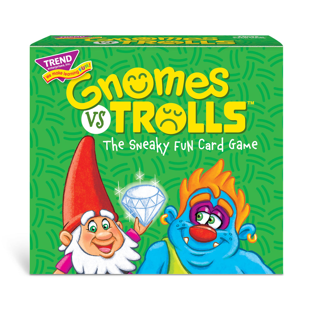GNOMES vs TROLLS Three CORNER™ Card Game box front