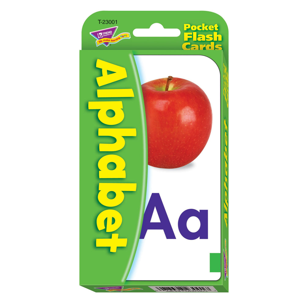 T23001 Flash Cards Alphabet Package Front