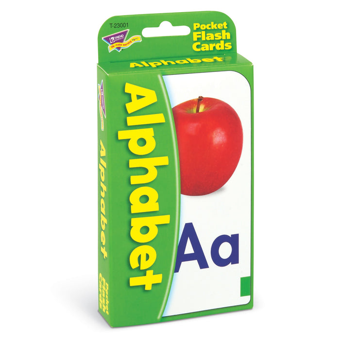 T23001 Flash Cards Alphabet Package Left