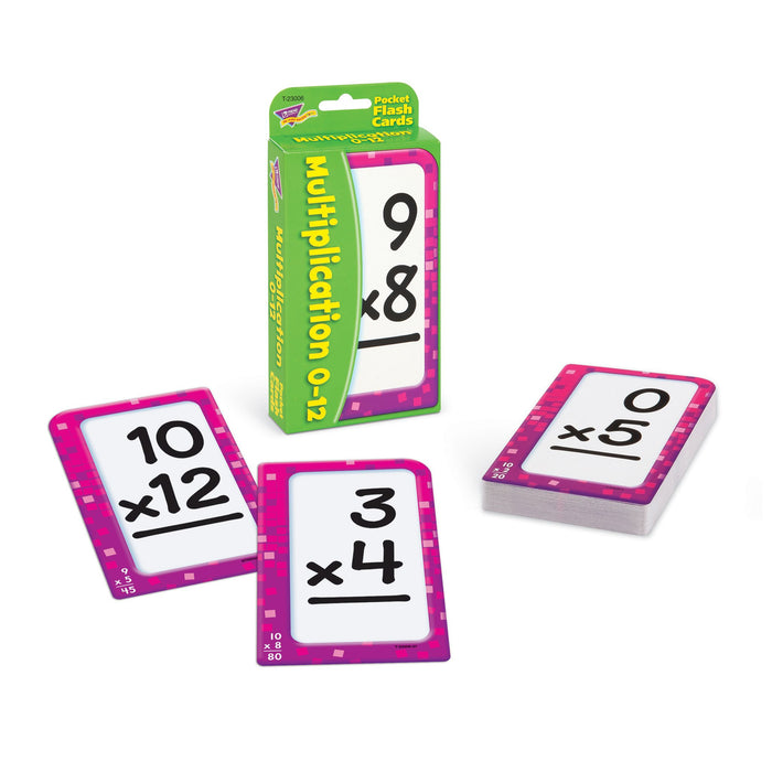T23006 Flash Cards Multiplication 0 to 12