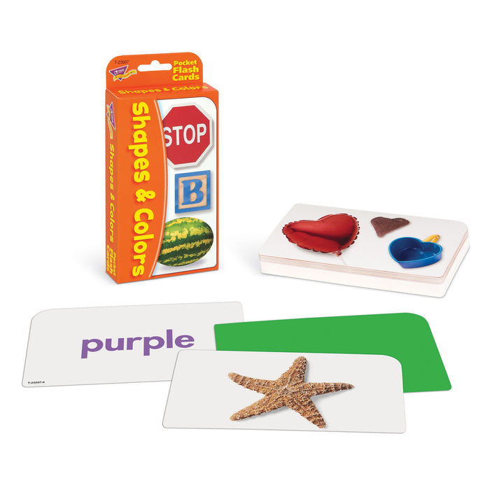 T23007 Flash Cards Shapes Colors