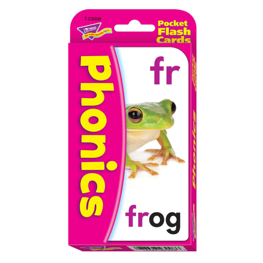 T23008 Flash Cards Phonics Package Front