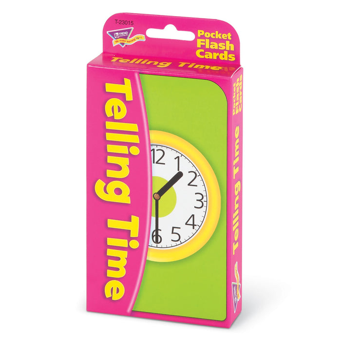 T23015 Flash Cards Telling Time Package Right