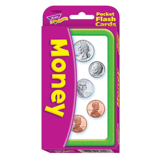 T23020 Flash Cards Money Package Front