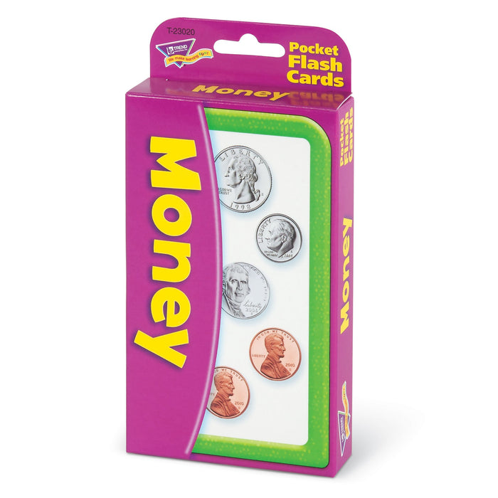 T23020 Flash Cards Money Package Right