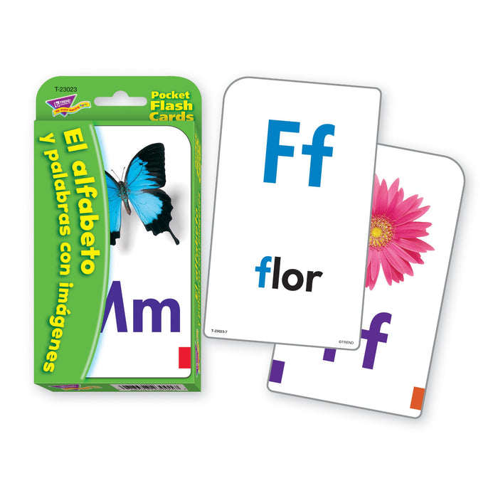T23023 Flash Cards Alphabet Spanish