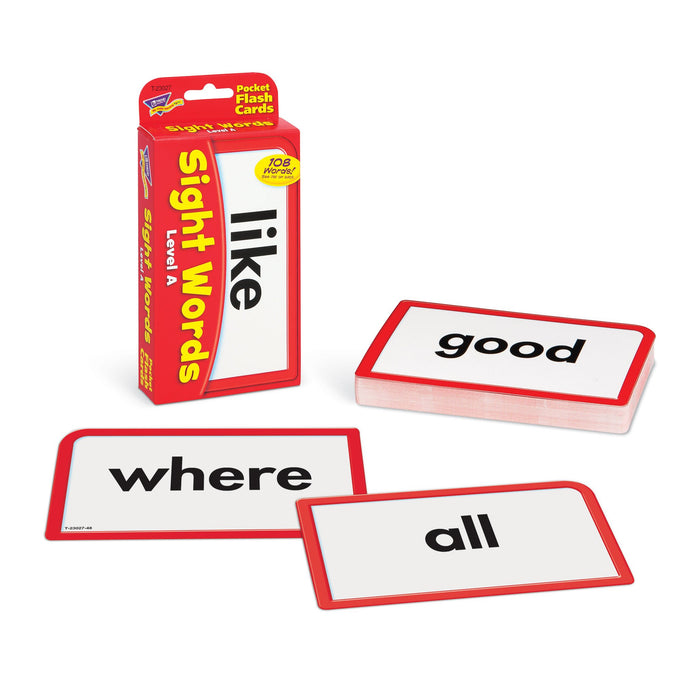 T23027 Flash Cards Sight Words Level A