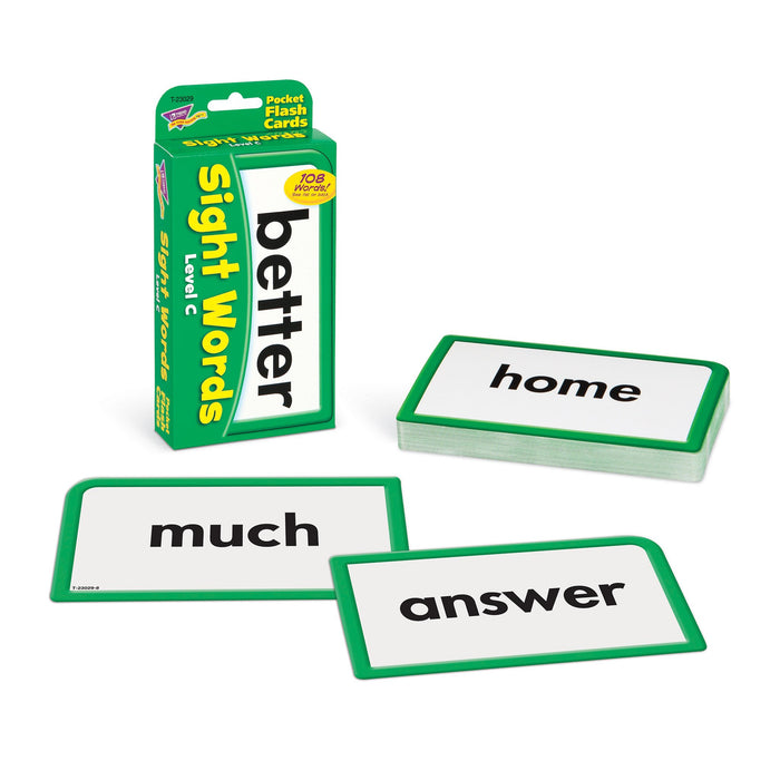 T23029 Flash Cards Sight Words Level C