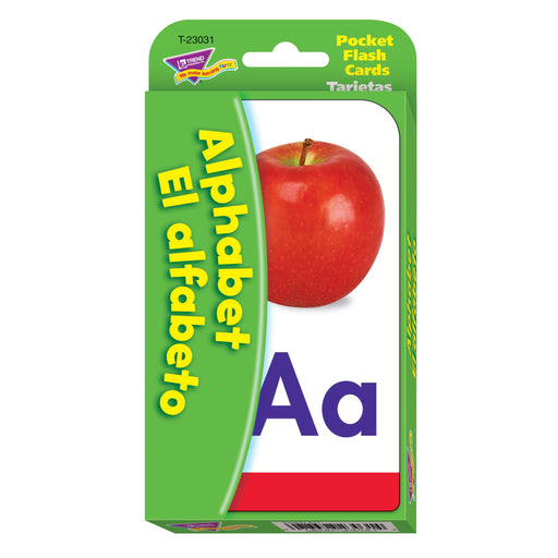 T23031 Flash Cards Alphabet Spanish Package Front