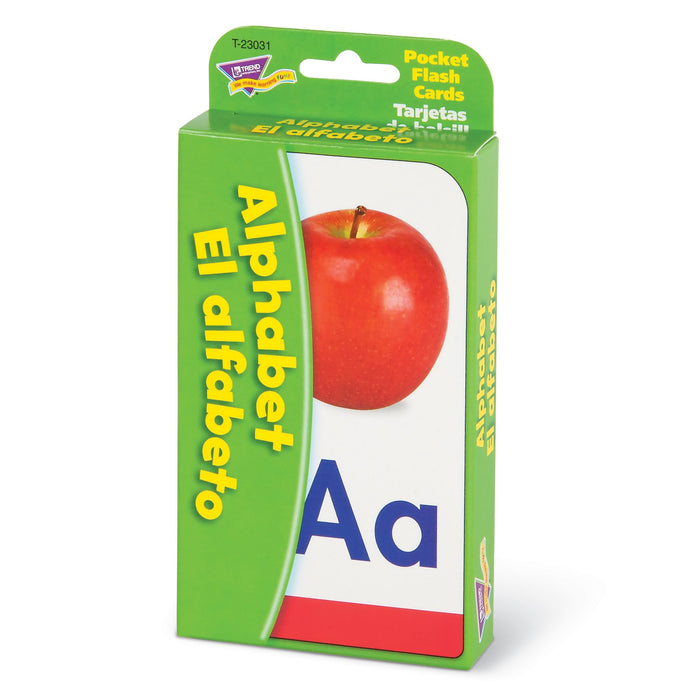 T23031 Flash Cards Alphabet Spanish Package Right