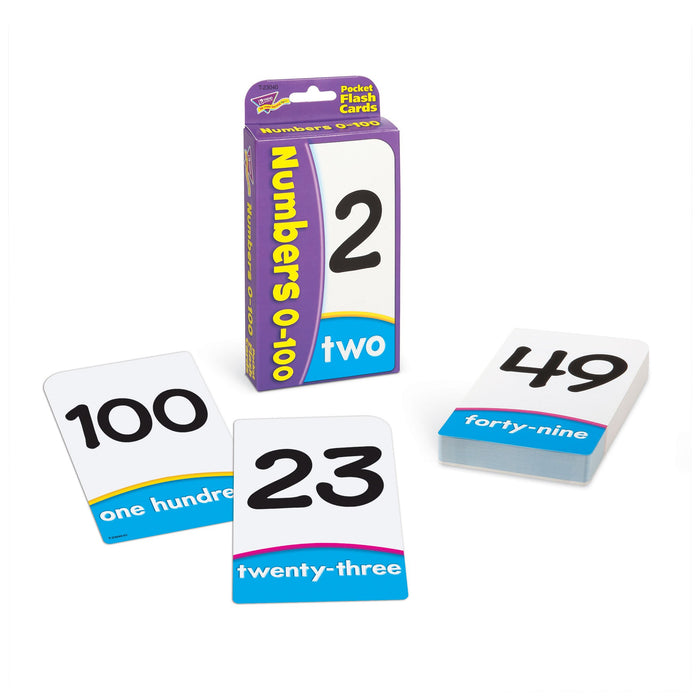 T23040 Flash Cards Numbers 0 to 100