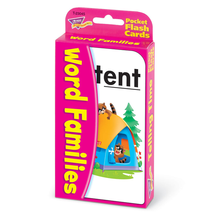 T23045 Flash Cards Word Families Package Right