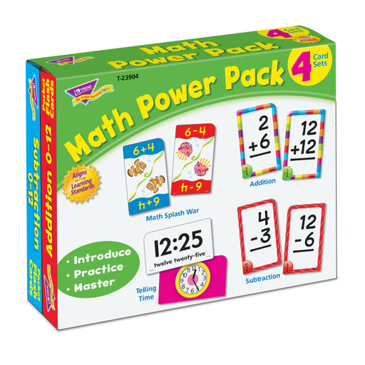T23904 Flash Cards Math Package Left