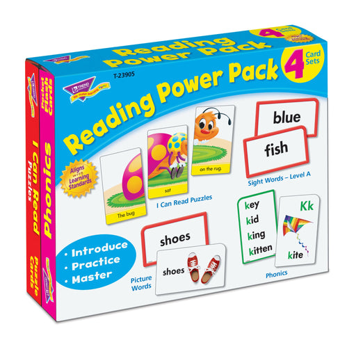 T23905 Flash Cards Reading Package Left