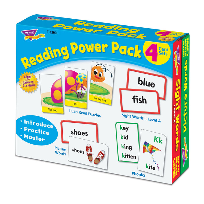T23905 Flash Cards Reading Package Right
