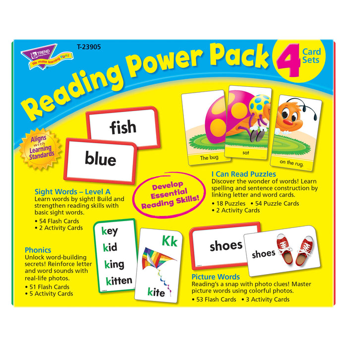 T23905 Flash Cards Reading Package Back