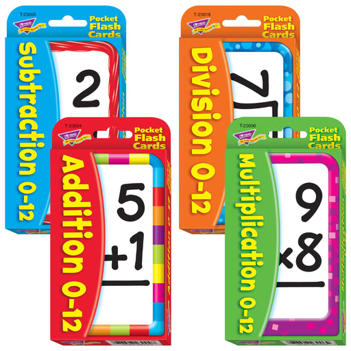 T23906 Flash Cards Math Facts Combo Pack