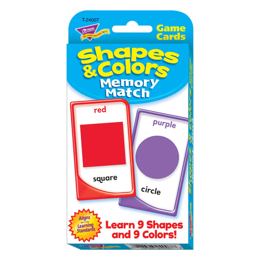 T24007 Game Cards Shapes Colors Package Front