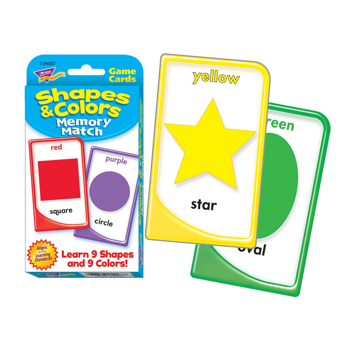T24007 Game Cards Shapes Colors