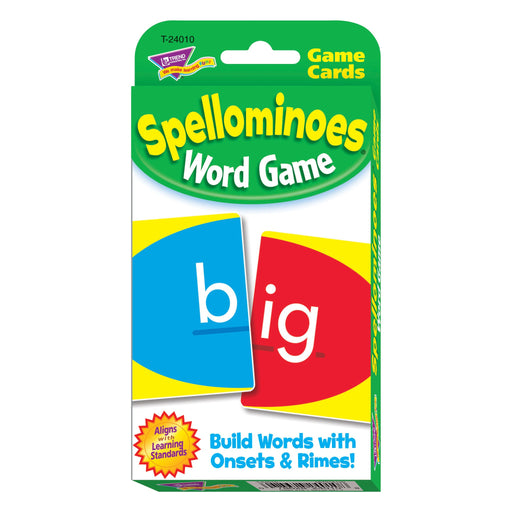 T24010 Game Cards Spellominoes Package Front