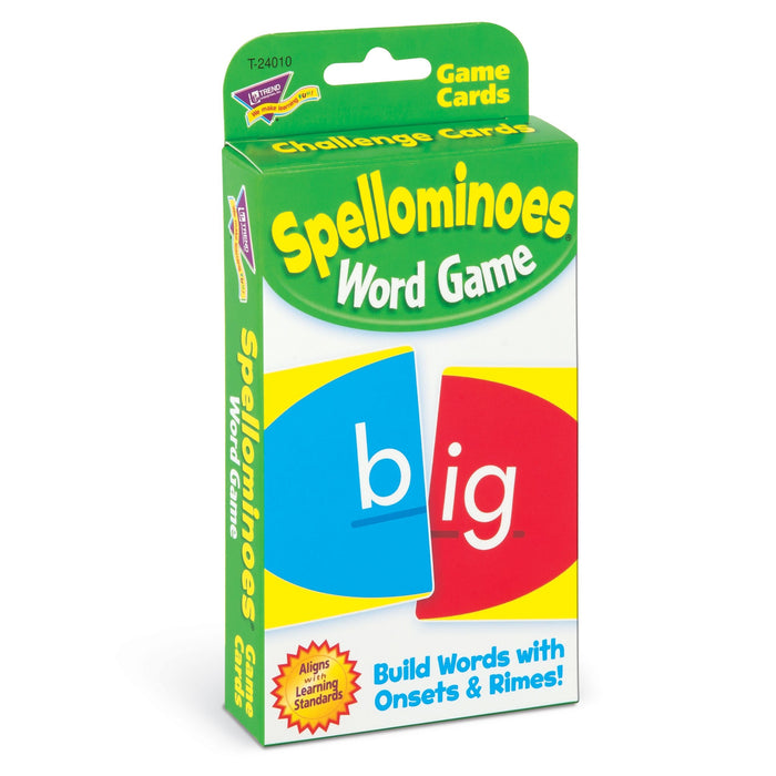 T24010 Game Cards Spellominoes Package Left