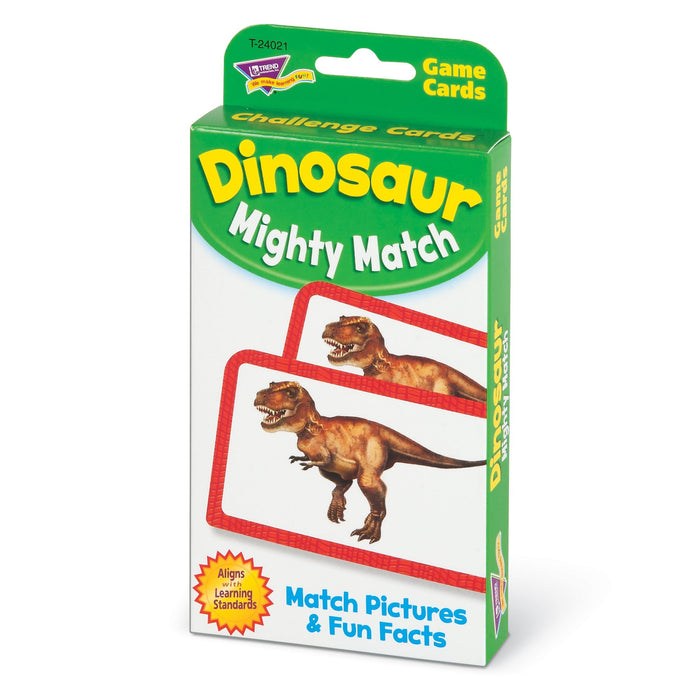 T24021 Game Cards Dinosaur Mighty Match Package Right
