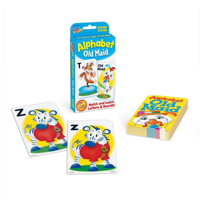 T24023 Game Cards Old Maid