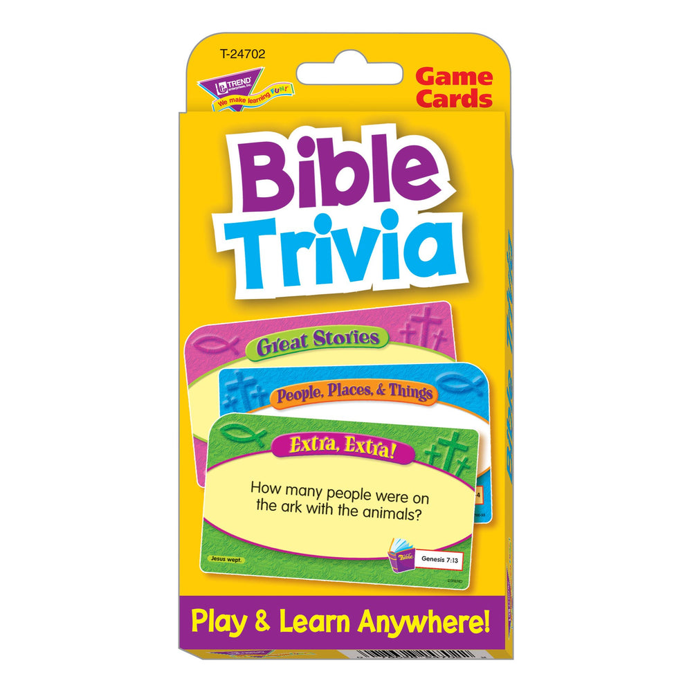 T24702 Game Cards Bible Trivia Package Front