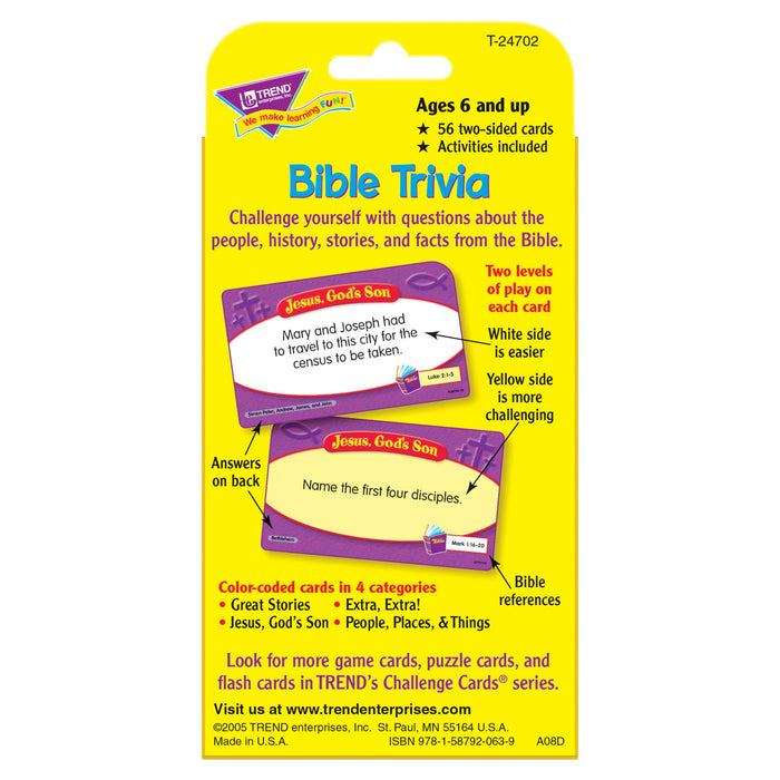 T24702 Game Cards Bible Trivia Package Back
