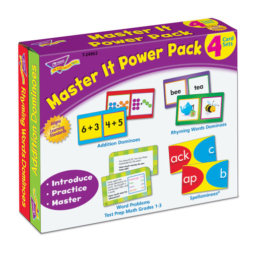 T24902 Flash Cards Master It Package Left