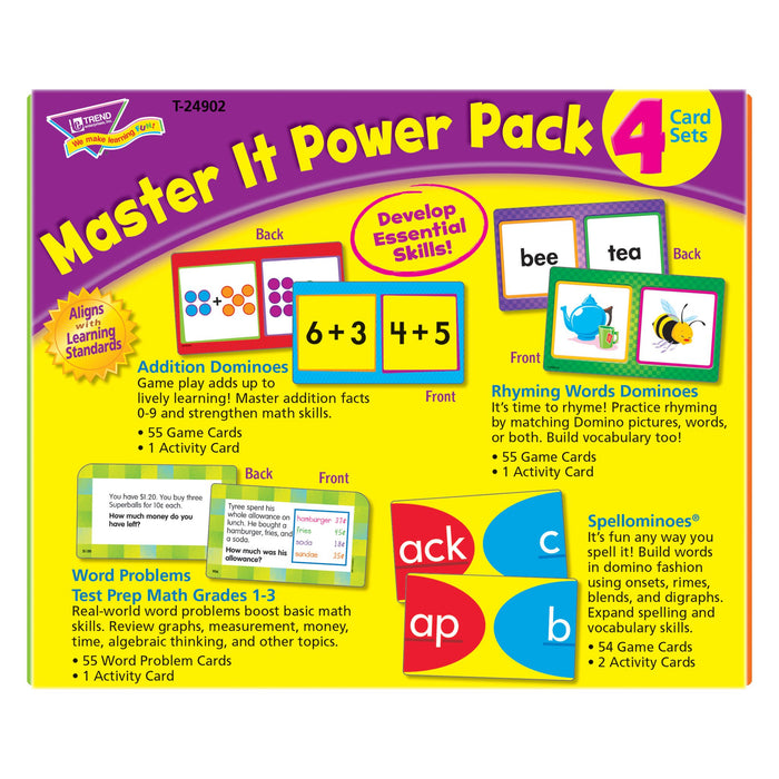 T24902 Flash Cards Master It Package Back
