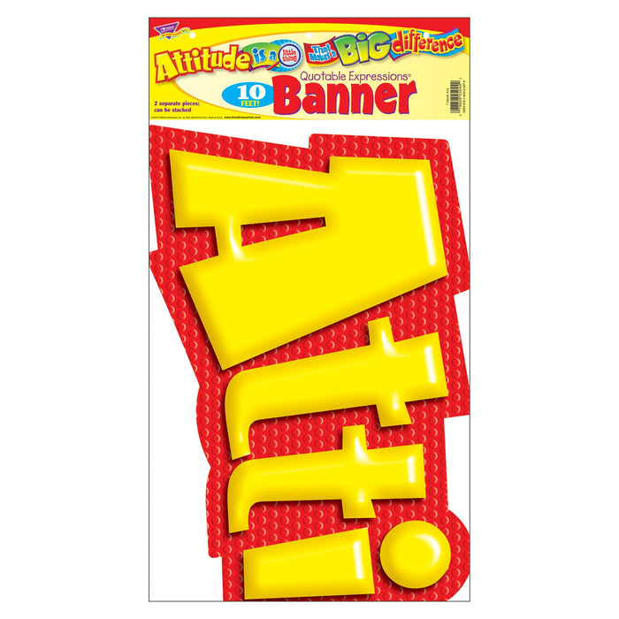 T25044 Banner 10 Feet Attitude Package