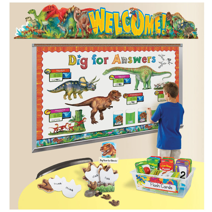 T25081 4 Banner 10 Feet Welcome Discovering Dinosaurs Classroom