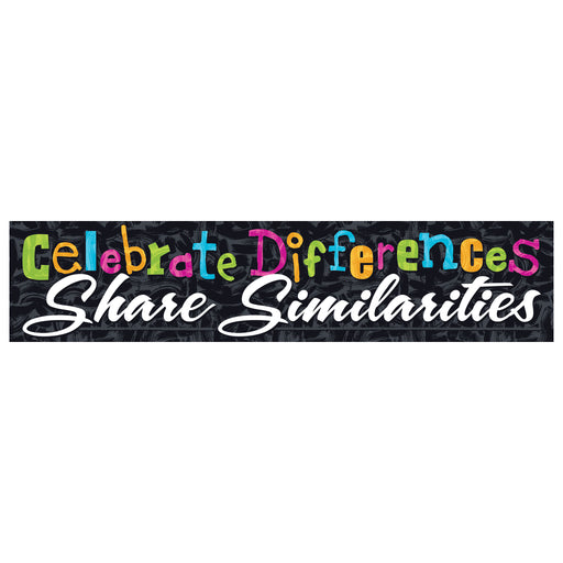 Celebrate Differences... Quotable Expressions® Banner – 3 Feet