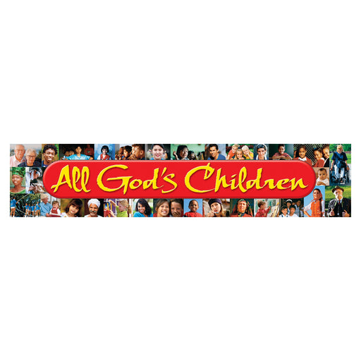 T25710 Banner 5 Feet Gods Children