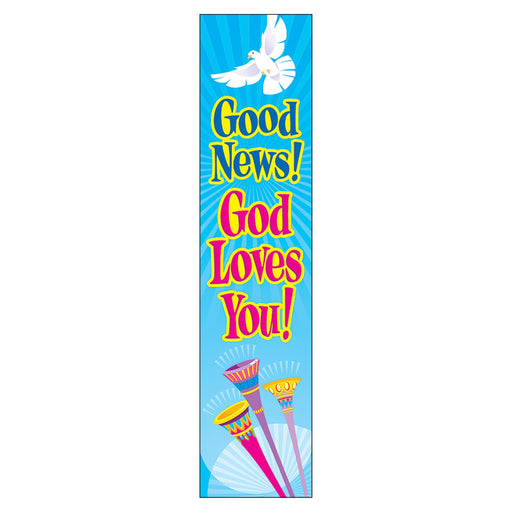 T25711 Banner 5 Feet Good News