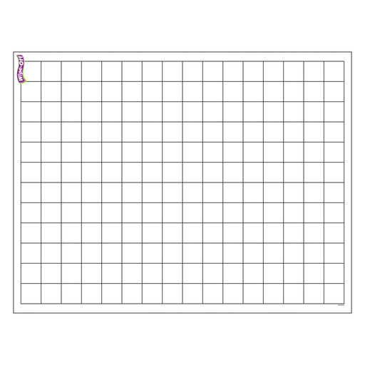 T27305 Wipe Off Chart Graphing Grid